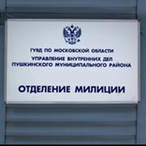 Отделения полиции Электрогорска